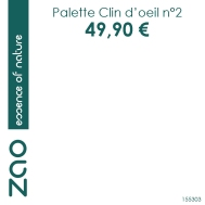 155303 CARRE PRIX PALETTE CLIN DOEIL N2